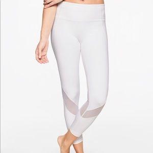 Athleta Eclipse 7/8 tight - white